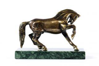 Bronze sculpture Horse