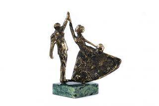 Bronze sculpture a Wedding waltz