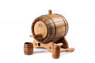 Barrel for aging cognac and wine