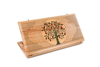 Pomegranate tree backgammon classic