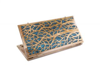 Epoxy Trees backgammon two-sided classic