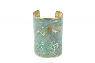 Brass bracelet miniature Ararat