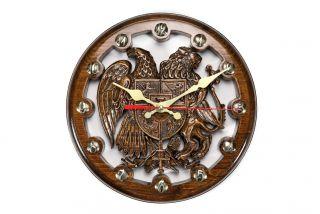 Clock Coat of Arms of Armenia