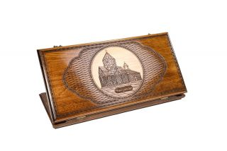 Backgammon Artsakh – Gandzasar two – sided classic