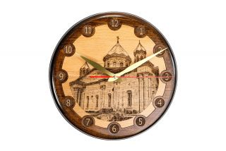 Wall clock Church of the Holy Mother of God