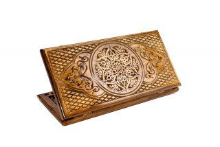 Ornamental motif backgammon classic