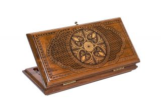 Ornamental backgammon classic
