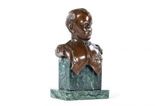 Bronze sculpture the Bust of Napoleon