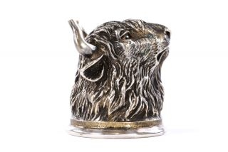 Bronze Cup the Bull